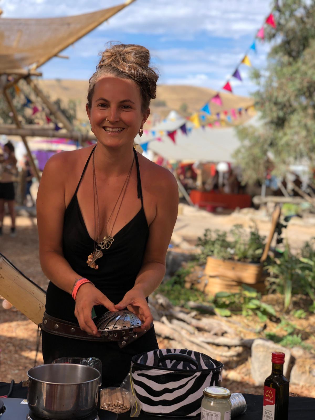 rainbow serpent festival workshop laila helena grow naturopath