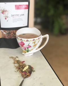 Summer Love Herbal Tea - Aphrodisiac Organics Love and Co